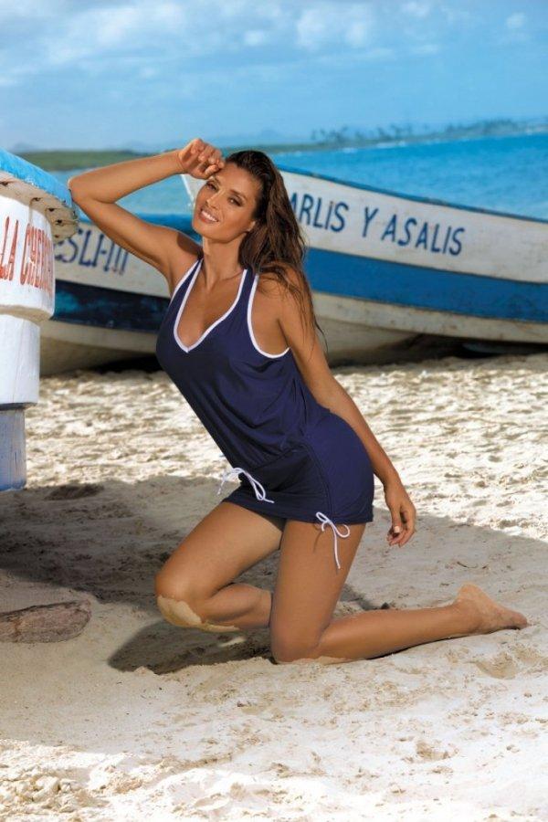 Plážové šaty Marko Elsa M-313 Blu Scuro