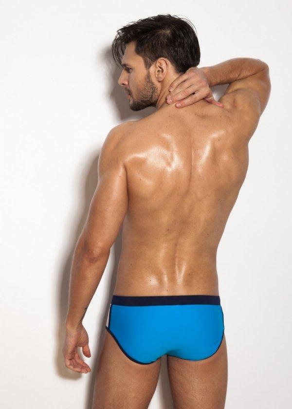 Alpha Male Brevo Blue Pánské plavky