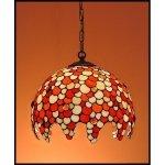 Lampa żyrandol zwis witraż KROPLA 30cm