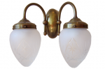 Kinkiet mosiężny JBT Stylowe Lampy WKMB/W23/2