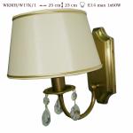 Kinkiet  mosiężny JBT Stylowe Lampy WKMB/W17K/1