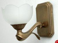 Kinkiet mosiężny JBT Stylowe Lampy WKMB/785K/1