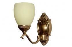Kinkiet mosiężny JBT Stylowe Lampy WKMB/W67/1