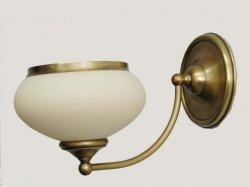 Kinkiet mosiężny JBT Stylowe Lampy WKMB/W63K/1/4268