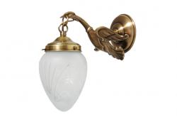 Kinkiet mosiężny JBT Stylowe Lampy WKMB/W54K/1