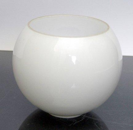 Klosz szklany kula otwarta 14cm do lamp- klosze do lamp