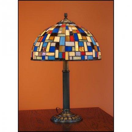 Lampka witrażowa nocna biurkowa MOZA H-48cm