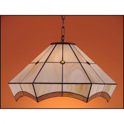 Lampa żyrandol zwis witraż PIERO 40cm