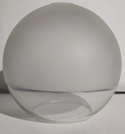 Klosz szklany kula otwarta duży 25cm E27