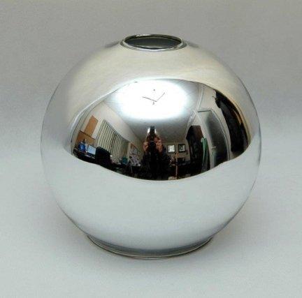 Klosz szklany kula otwarta 18cm E27