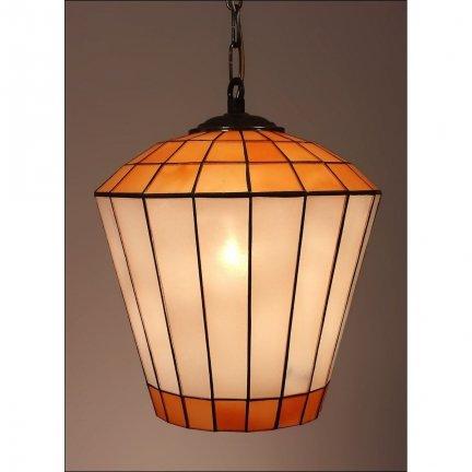 Lampa żyrandol zwis witraż DZWONEK