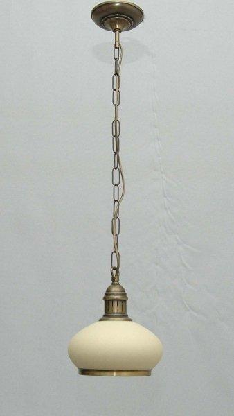 Żyrandol mosiężny JBT Stylowe Lampy WZMB/W28Z/MA(4268)