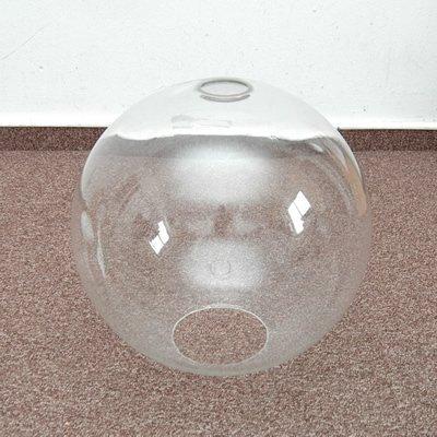 Klosz szklany kula otwarta 30cm do lamp- klosze do lamp