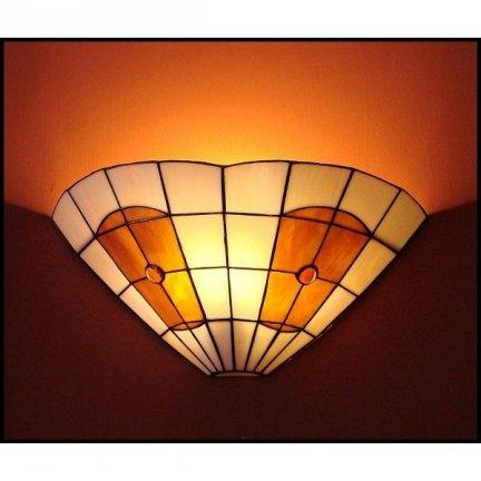 Lampa ścienna kinkiet witraż PARASOL 30cm