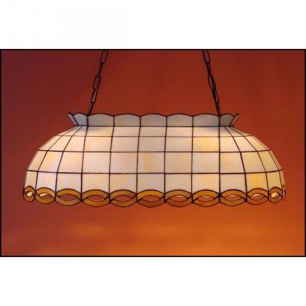 Lampa żyrandol zwis witraż WARKOCZ 60cm