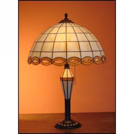 Lampka witrażowa nocna biurkowa WARKOCZ H-60cm