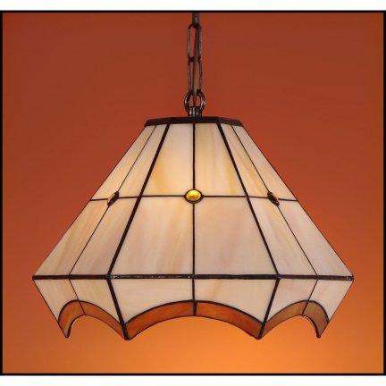 Lampa żyrandol zwis witraż PIERO 30cm