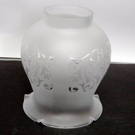 Klosz szklany K5371/3 UWAGA! Duży klosz! - klosze do lamp