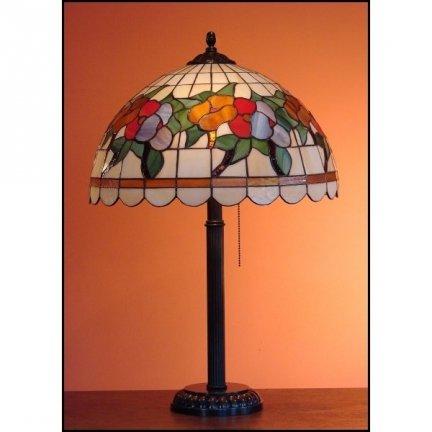 Lampka witrażowa nocna biurkowa LATO H-60 cm