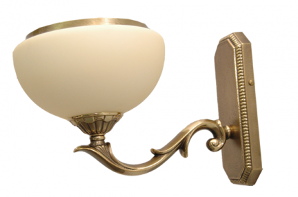 Kinkiet mosiężny JBT Stylowe Lampy WKMB/687K/1