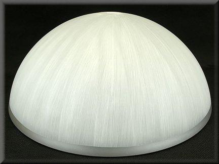 Klosz szklany duży 40cm do żyrandoli,lamp,E27