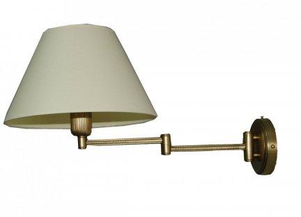 Kinkiet mosiężny JBT Stylowe Lampy WKMB/W30L/1