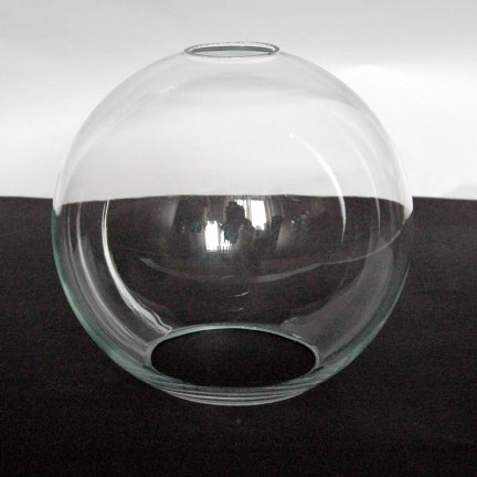 Klosz szklany kula otwarta 20cm do lamp- klosze do lamp