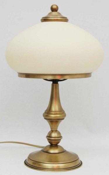 Lampka mosiężna,lampa biurkowa mosiężna