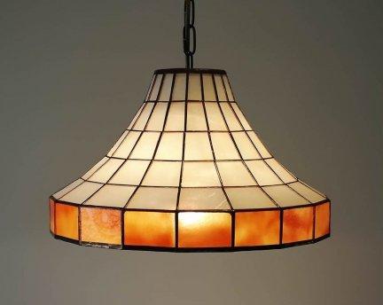 Lampa żyrandol zwis witraż ARCUS I 30cm