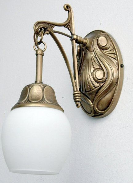 Kinkiet mosiężny JBT Stylowe Lampy WKMB/841K/1