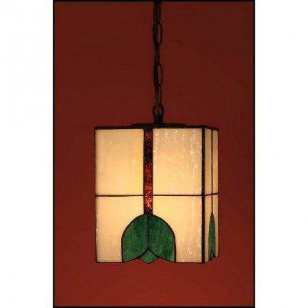 Lampa żyrandol zwis witraż TUL