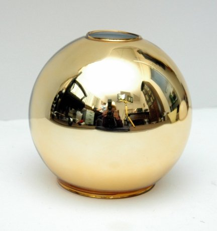 Klosz szklany kula otwarta 14,5 cm E27