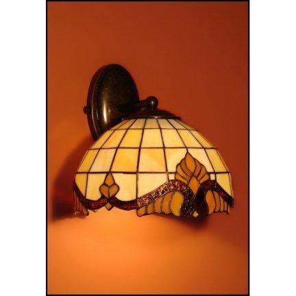 Lampa ścienna kinkiet witraż Classic 23cm