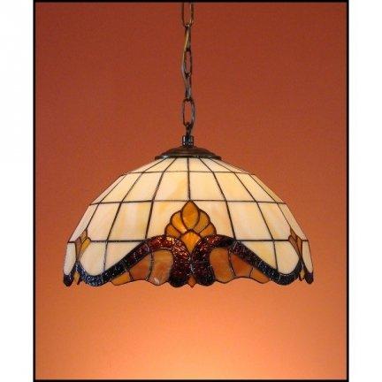Lampa żyrandol zwis witraż Classic 30cm