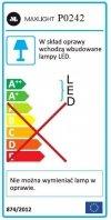 MAXLIGHT P0242 LAMPA WISZĄCA ORGANIC 33x1 ZŁOTA