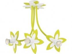 Lampa wisząca Nowodvorski FLOWERS  GREEN III