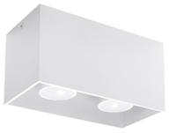 Plafon QUAD MAXI Biały SL.0380 Sollux