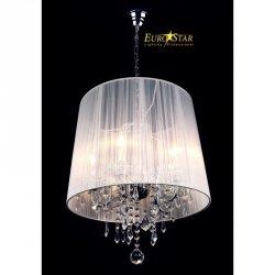 Lampa wisząca IZABEL 5 2045/5 CH/WT