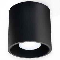 Plafon ORBIS 1 czarny  SL.0016 Sollux