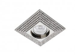 Downlight PIRAMIDE XL Chrome AZzardo NC1673SQ-CH