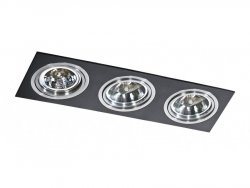 Lampa techniczna SIRO 3 Black AZzardo GM2300 BK/ALU