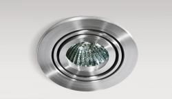 Lampa techniczna Carlo 1 Aluminium AZzardo GM2102 ALU