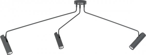 Lampa sufitowa EYE SUPER GRAPHITE 6497
