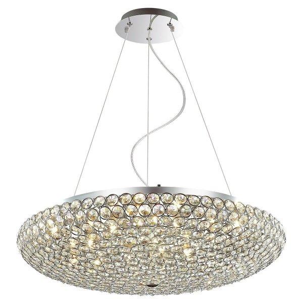 Lampa wisząca kryształowa SANTO MA04995CA-012