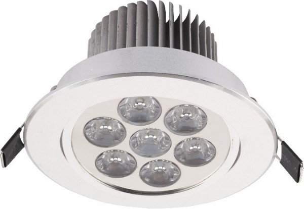NOWODVORSKI DOWNLIGHT LED SILVER 6823