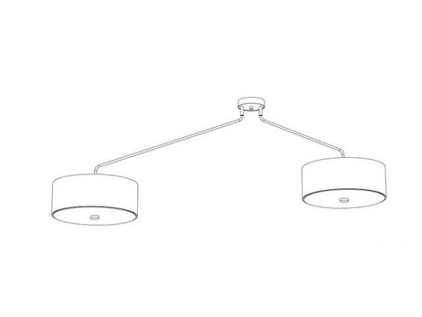 Lampa wisząca Nowodvorski HAWK GRAY VI 6541