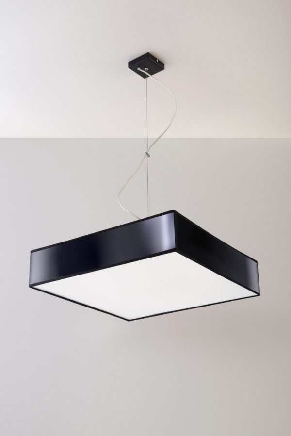 Lampa wisząca HORUS 45 czarna SL.0133 Sollux