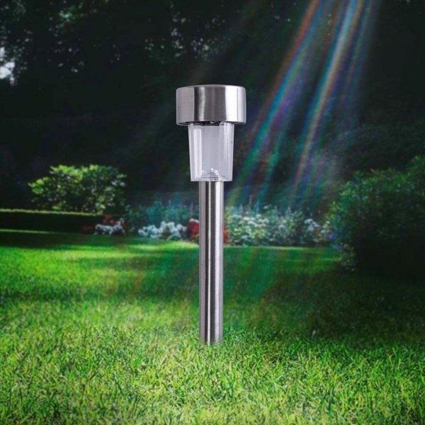 LAMPKA OGRODOWA SOLARNA INOX EKO853 Eko-Light