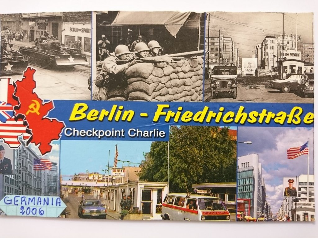 BERLIN-FRIEDRICHSTRASSE. CHECKPOINT CHARLIE - Niemcy