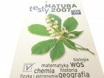 MATURA TESTY 2007. MATEMATYKA, CHEMIA PLUS MAPA